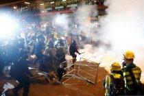 Unjuk rasa di Hong Kong berakhir ricuh
