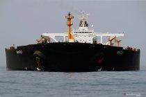 Kapal tanker Iran pindah  posisi tapi masih berlabuh di luar Gibraltar