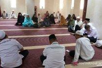 Jamaah asal Jakarta berkumpul persiapan jelang wukuf