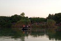 Petugas cari satu awak Cesna terseret arus Sungai Cimanuk