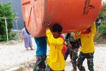 Atasi krisis air bersih Satgas TMMD Tegal siapkan tangki air