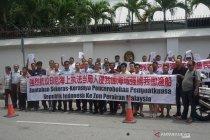 Pemilik kapal nelayan unjuk rasa ke KBRI Kuala Lumpur