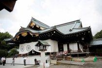 Seorang tersangka ditangkap karena merecoki  kuil Yasukuni