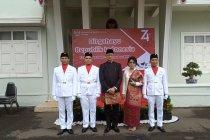 Masyarakat Indonesia di Laos peringati HUT ke-74 Kemerdekaan RI