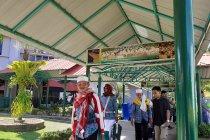 Jamaah Kloter 1 Debarkasi Batam tiba di Tanah Air