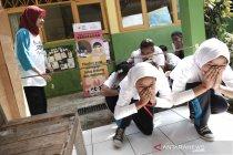 PMI edukasi ratusan pelajar SD tentang kebencanaan