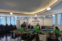 Kapal Hotel Garden UMM gratiskan pendonor darah masuk TR Sengkaling
