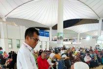 5.182 haji khusus mulai kembali ke Tanah Air