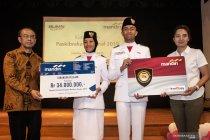 E-money dan tabungan pelajar untuk Paskibraka