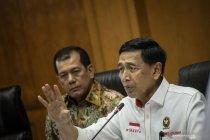 Wiranto sebut penegakan hukum pelaku pembakar hutan kurang tegas