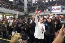 Puan Maharani disambut meriah mahasiswa baru UI