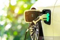 Konvoi mobil listrik momentum kurangi polusi udara