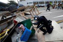 Polisi Hong Kong amankan 29 pengunjuk rasa