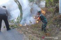 Polres Bangka Barat sosialisasikan pencegahan karhutla