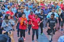 Aksi solidaritas #SurabayaPapuaBersaudara digelar di Surabaya