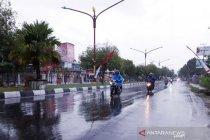 Potensi hujan di Kalteng meningkat hingga akhir Agustus
