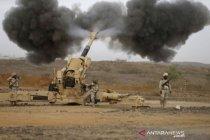 Saudi laporkan kerusakan setelah  proyektil Houthi hantam Jazan