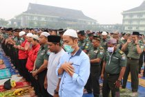 Umat Islam laksanakan sholat Istisqa