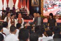 Ibu Negara diskusi bahaya narkoba bersama pelajar di Palembang