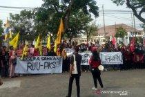 Ratusan orang di Solo menggelar aksi dukung RUU-PKS