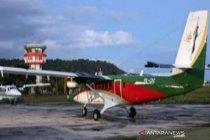 Pencarian pesawat twin otter dihentikan akibat cuaca berkabut