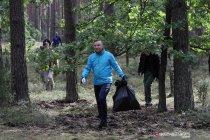 Partisipasi Presiden Polandia dalam kampanye lingkungan