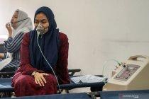 Baznas Riau buka ruang ramah asap layani korban karhutla