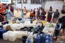 Warga Lombok Tengah keluhkan suplai air bersih minim