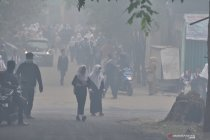 Siswa diliburkan akibat kabut asap pekat