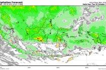 BMKG peringatkan potensi hujan lebat, petir sejumlah wilayah Lampung