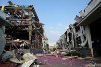 Empat hilang, lima luka akibat ledakan di pabrik kimia China