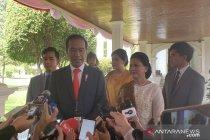 Sebelum pelantikan presiden, Jokowi momong cucu