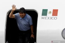 Presiden terguling Bolivia Evo Morales mendapat suaka politik di Meksiko