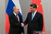 Putin dan Xi Jinping bertemu di KTT BRICS