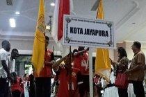 Kontingen kota Jayapura juara umum Pesparani I Papua