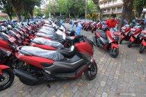 Motor untuk perangkat desa di Klaten