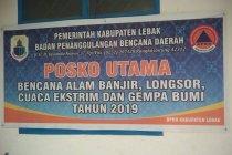 Warga Lebak-Banten diminta BPBD siaga cuaca ekstrem