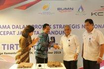 Jasa Tirta II dukung pembangunan proyek Kereta Cepat Jakarta Bandung
