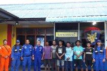 Enam awak kapal tenggelam di perairan Bintan ditemukan selamat