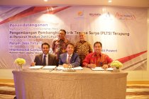 Kolaborasi dengan ACWA Power, Jasa Tirta II jajaki potensi PLTS terapung