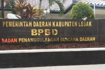 BPBD Lebak belum pastikan kerugian akibat bencana banjir