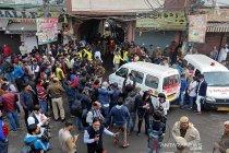 Kebakaran di satu pabrik New Delhi tewaskan 43 orang