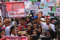 Ganjar pimpin ribuan pelajar peringati Hari Antikorupsi Sedunia