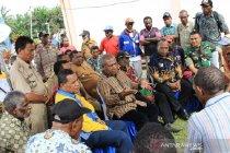Bupati Jayapura Apresiasi Kerjasama Masyarakat Distrik Kaureh