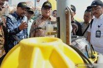 Peluncuran alat peringatan dini tsunami