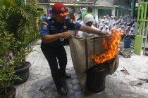 Sosialisasi pemadaman kebakaran