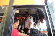 Polisi-BNN Trenggalek operasi gabungan antisipasi lonjakan penumpang
