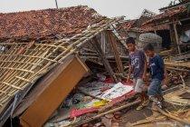 Bencana angin puting beliung di Tangerang