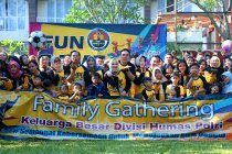 Divhumas Polri adakan kegiatan Family Gathering bangun kapasitas SDM