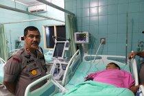 Kepala Polda Sumatera Utara jenguk jurnalis TVRI Salomo Tobing